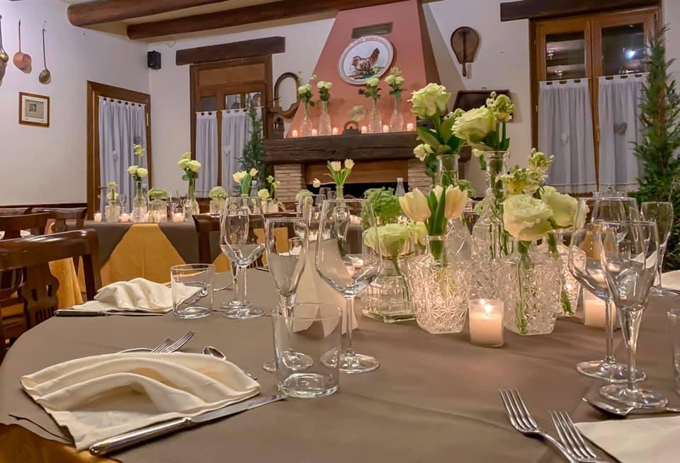 hostaria a le bele tavolo elegante